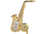 SAXOPHONE WITH CLOCK