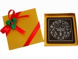 Seasons Greeting Chocolate Bar