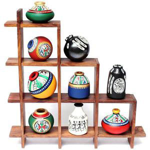 set of pot with stand gift