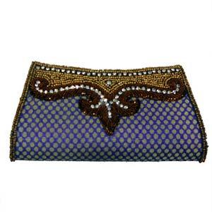 sg attractive clutch purse in purple