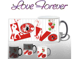 L O V E Forever Magic Mug