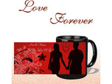 Never Let You Go Black Mug