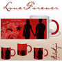 Never Let You Go Red Magic Mug - image