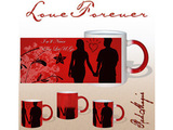 Never Let You Go Red Magic Mug