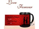Believe In Love Black Mug