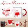 Fall In Love Red Magic Mug - image