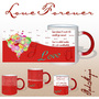I Love You Forever Red Magic Mug - image