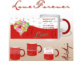 I Love You Forever Red Magic Mug