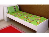 Single Bed Sheet Chhota Bheem Green Meadows Green