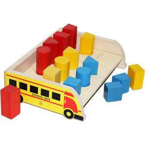 skillofun 3d geo shape sorter bus