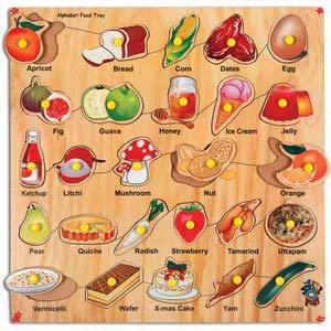 skillofun alphabet food tray with knobs