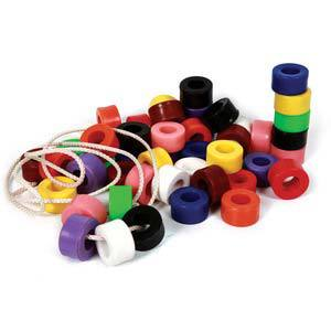 skillofun beads plastic cylindrical