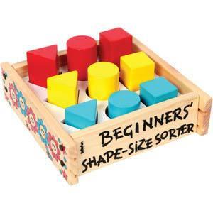 skillofun beginners shape size sorter