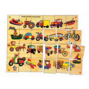 skillofun bumper to bumper transport floor puzzle