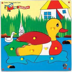 skillofun jumbo theme puzzle duck