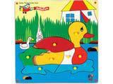 Skillofun Jumbo Theme Puzzle - Duck