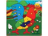 Skillofun Jumbo Theme Puzzle - Rooster