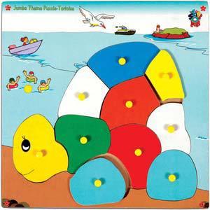 skillofun jumbo theme puzzle tortoise