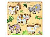 Skillofun Junior Identification Tray -  Common Animals - I (Goat)