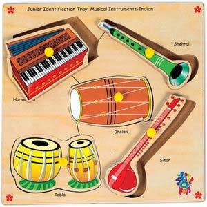 skillofun junior identification trays india musical instruments