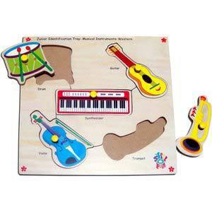 skillofun junior identification trays western musical instuments