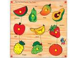 Skillofun King Size Identification Tray - Fruits