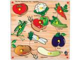 Skillofun King Size Identification Tray - Vegetables