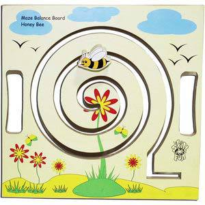 skillofun maze balance board honey bee