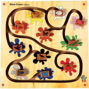 skillofun maze chase colors