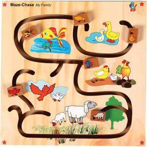 skillofun maze chase my family