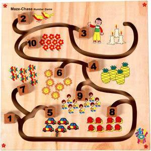 skillofun maze chase number game