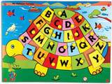 Skillofun My Alphabet Tortoise (With Knobs) (Capital ABC)
