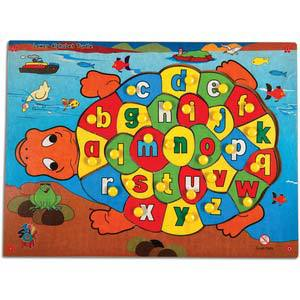 skillofun my alphabet turtle with knobs lower abc