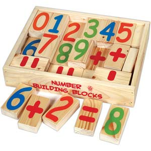 skillofun number building blocks 0 9 2 each and math signs