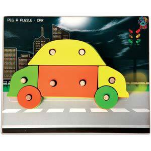 skillofun peg a puzzle car