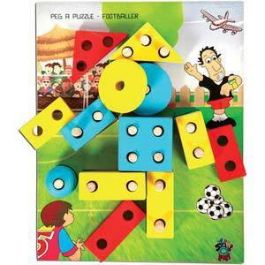 skillofun peg a puzzle footballer