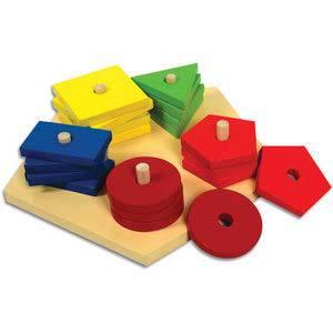 skillofun pentagon shape sorter