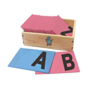 skillofun sand paper alphabet capital