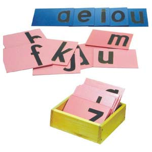 skillofun sand paper alphabets lower abc print