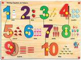 Skillofun Spanish Number Picture Tray (1-10)