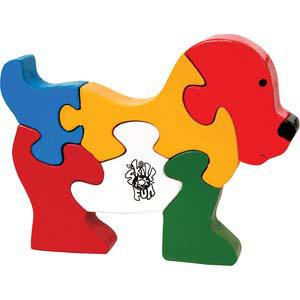 skillofun take apart puzzle doggie