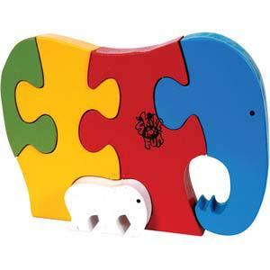 skillofun take apart puzzle elephant