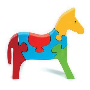skillofun take apart puzzle horse