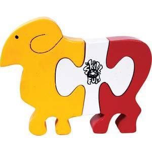 skillofun take apart puzzle lamb
