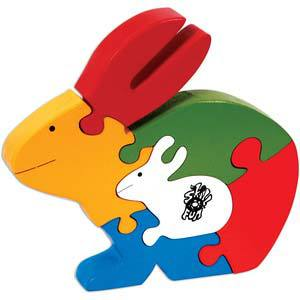 skillofun take apart puzzle rabbit