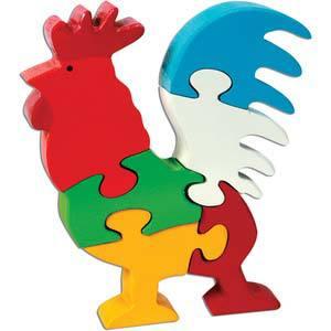 skillofun take apart puzzle rooster