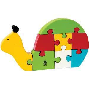 skillofun take apart puzzle snail