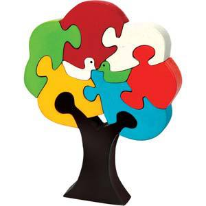 skillofun take apart puzzle tree bird