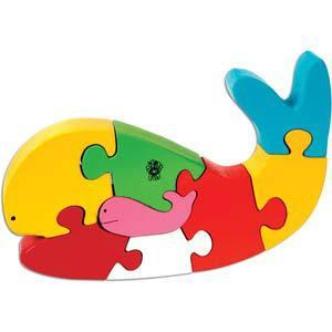 skillofun take apart puzzle whale