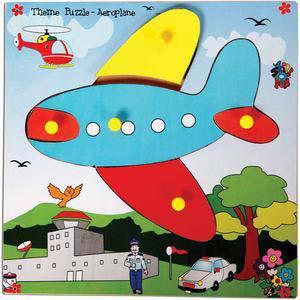 skillofun theme puzzle standard aeroplane